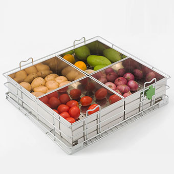 Box Vegetable Basket
